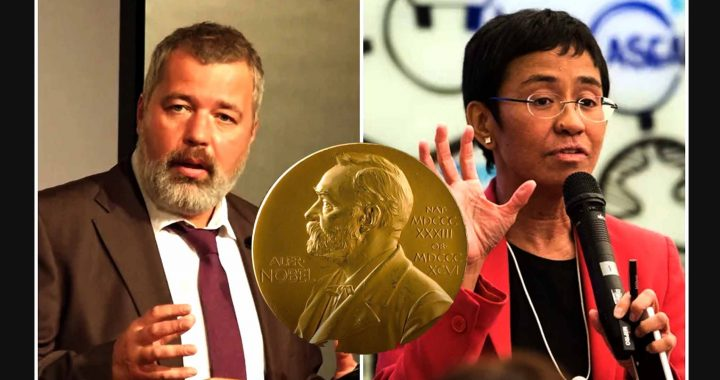 (Nobel Peace) Nobel Perdamaian 2021 untuk Maria Ressa dan Dmitry Muratov: kira-kira ape makna e?